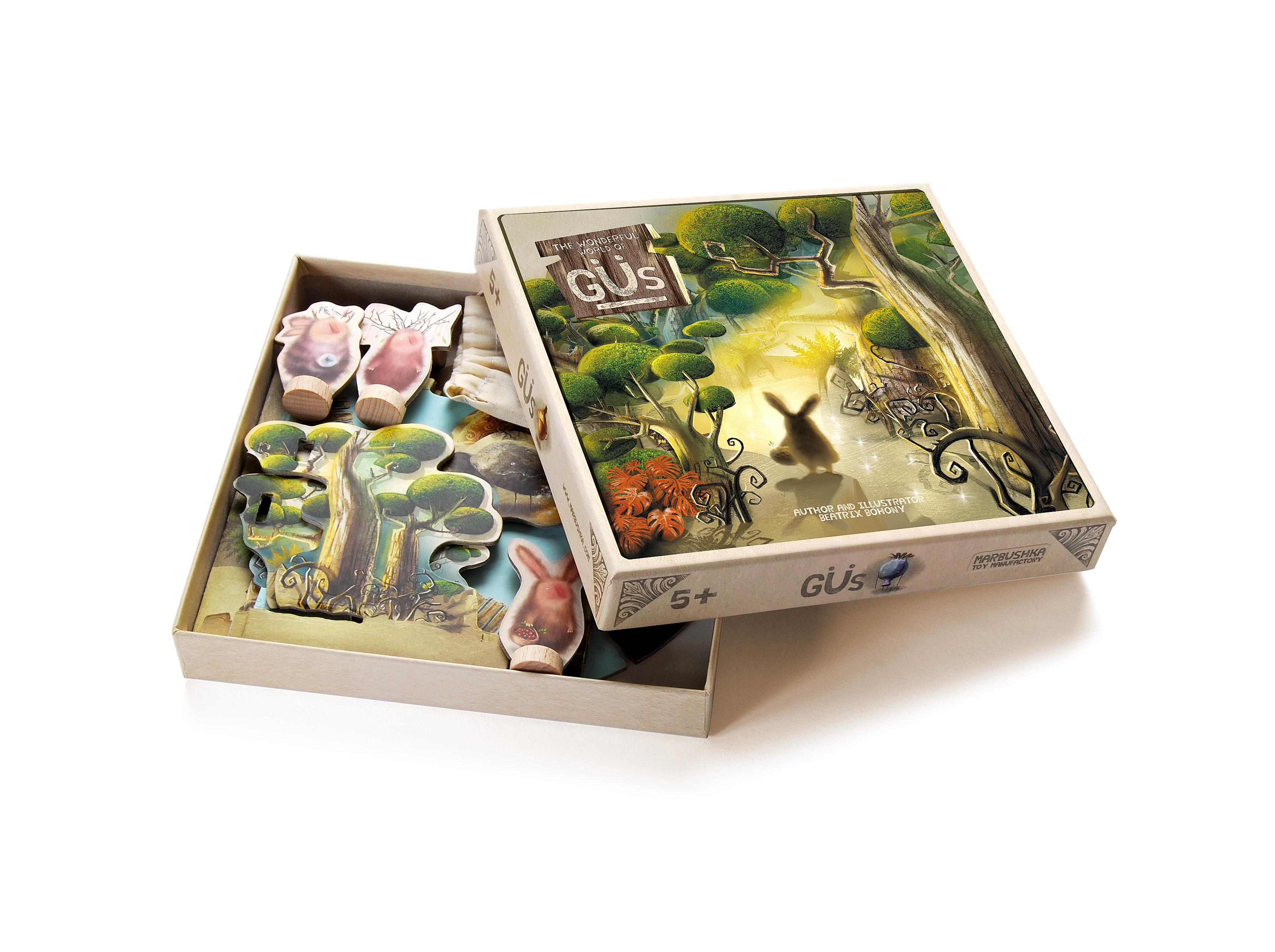 Настольная игра Гю-Лесные целители
