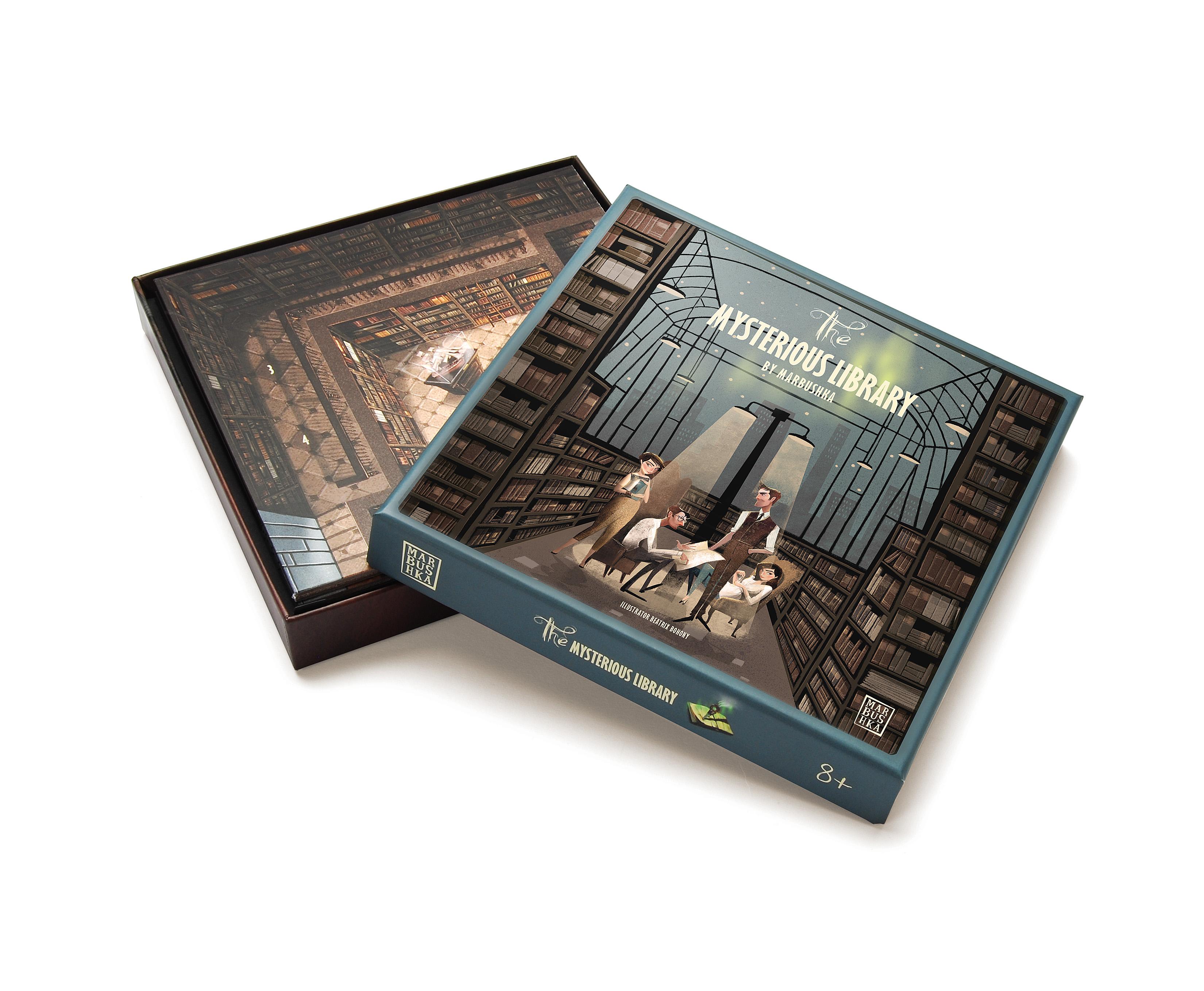 Настольная игра Таинственная библиотека