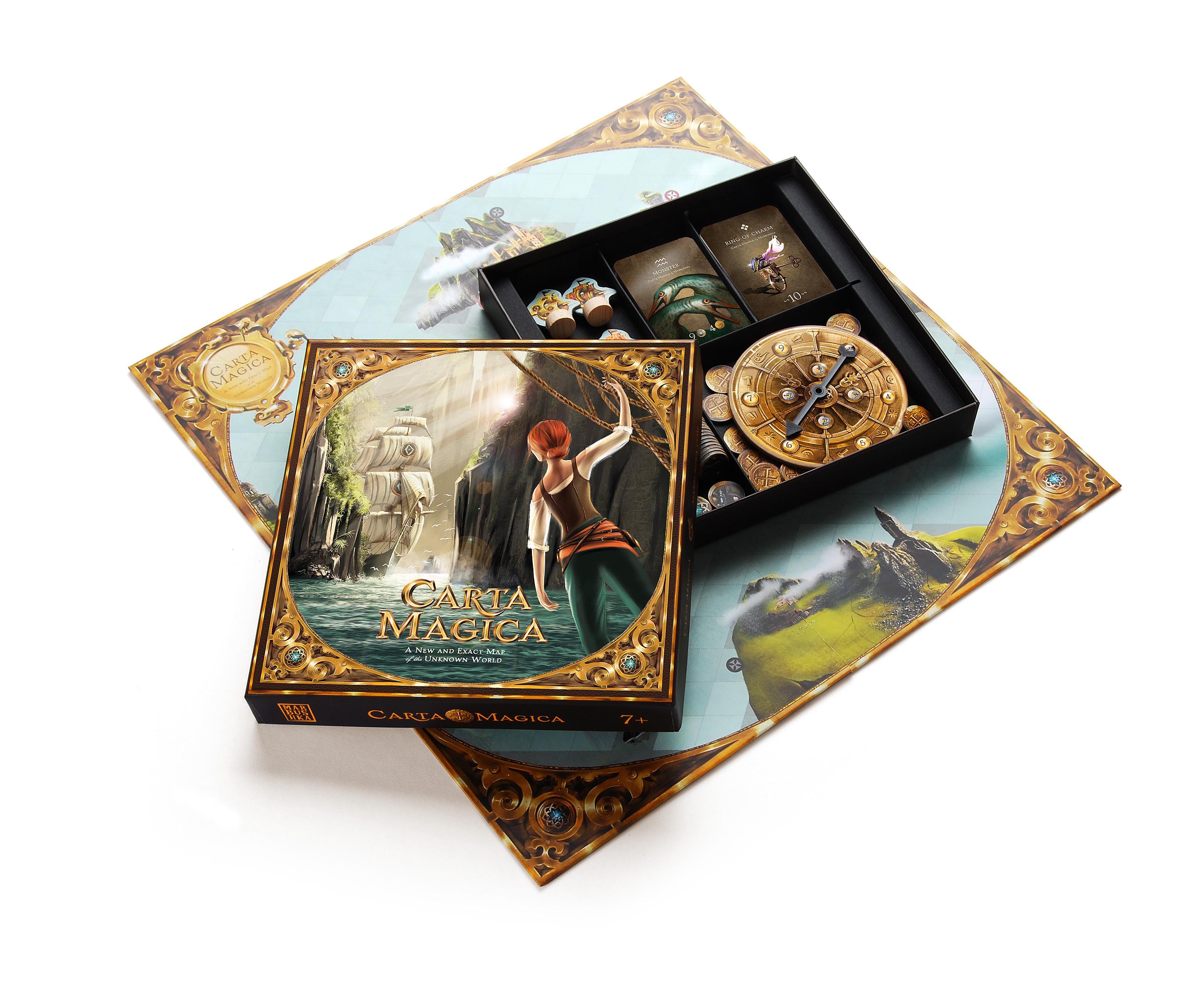 Настольная игра Магическая карта