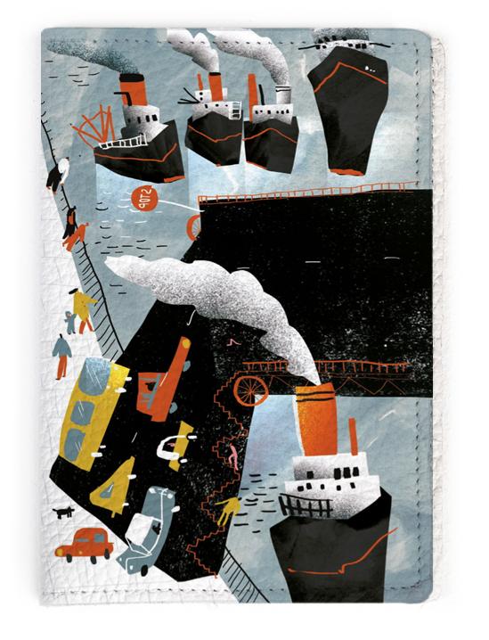 Обложка для паспорта - художник М. Павликовская